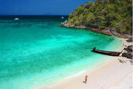 <泰国-普吉岛5晚7日游>2晚国五万豪同级,3晚泳池别墅,双出海,皇帝岛浮潜,大小PP环岛,海鲜市场