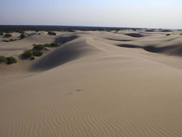 景点 · 库伦沙漠银沙湾
