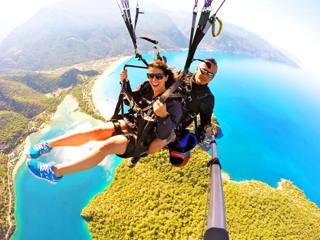 <土耳其6晚7日地中海之旅半自助游>2人成团,升级2段内陆飞 自费ATV 热气球 滑翔伞 全程接送服务 市区酒店
