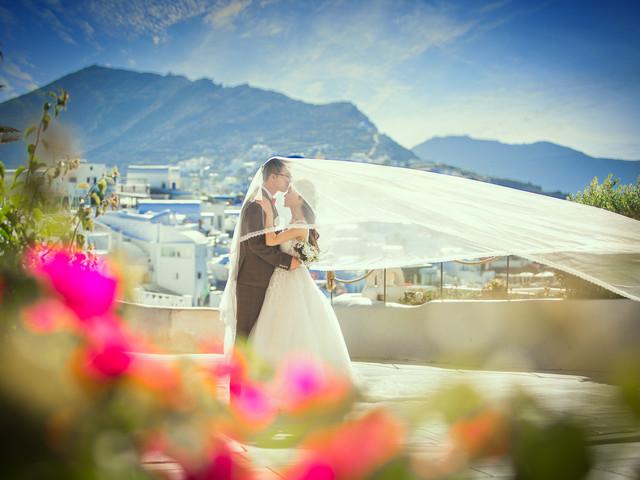 <希腊圣托里尼婚纱摄影>10小时拍摄服务驻当地中文团队唯美景色