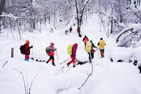 雪谷游乐场——中国雪谷接地气的娱乐项目:飞起来的雪圈奔腾的冰