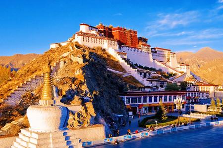 <西藏拉萨-布达拉宫-雅鲁藏布大峡谷-羊湖8日游>探索双圣湖、林芝小瑞士、领略千年冰川、藏宴石锅鸡、贴心微管家