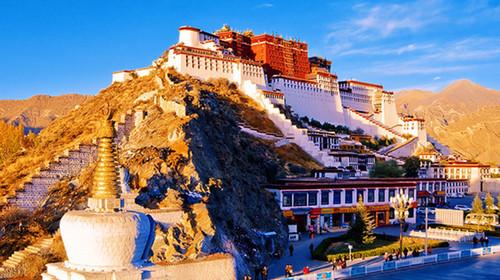 西藏拉萨-布达拉宫--雅鲁