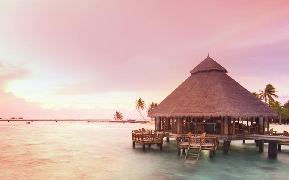 幸福马代-马尔代夫白金岛沙滩婚礼>