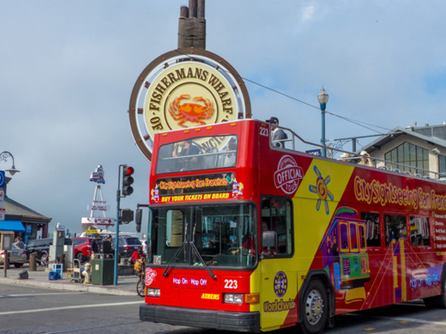 <旧金山随上随下巴士观光>(一、二、三日通票任选)
