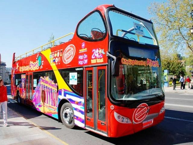 <雅典 24小时随上随下观光巴士>(免费赠送一天)