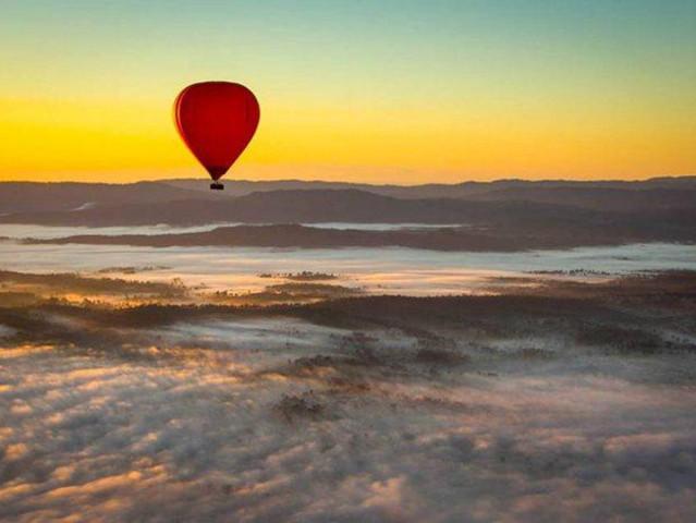 <黄金海岸30分钟热气球品质之旅>(可选接送+早餐)