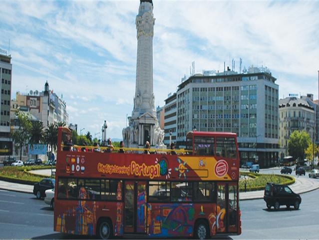 <葡萄牙  里斯本 24小时随上随下观光巴士 >(含中文语音导览)