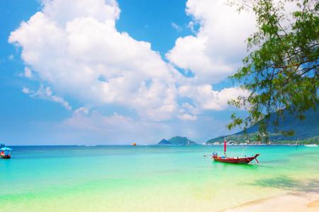 <苏梅岛机票+当地5晚6日游>新航,苏梅岛特森塔拉班佳丽温泉度假酒店BhundhariKoh,接送机