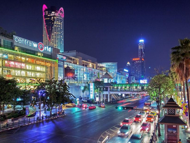 轻松3站购物,1晚曼谷国五酒店,2晚沙美岛海边酒店,2天自由活