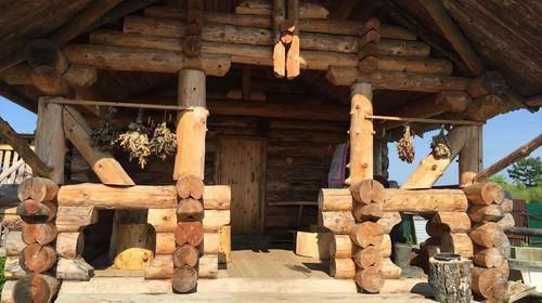 俄式小木屋