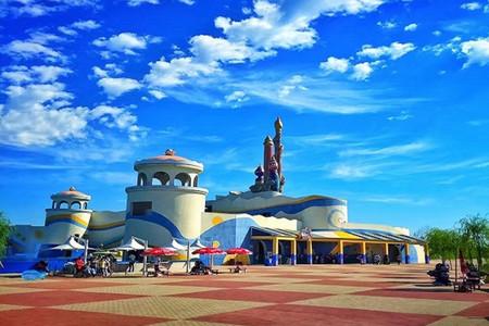 【游】北戴河全景,山海关古城天下第 一关,圣蓝海洋乐园和黄金海岸