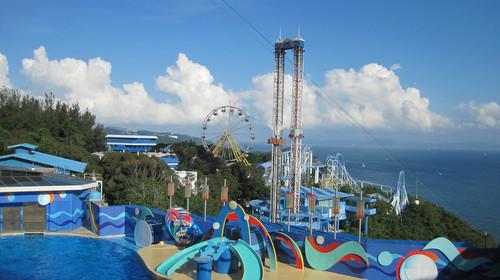香港旅游 南区旅游 香港海洋公园旅游  动感天地: 在这个惊险刺激的