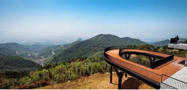 金华山绝美观景平台