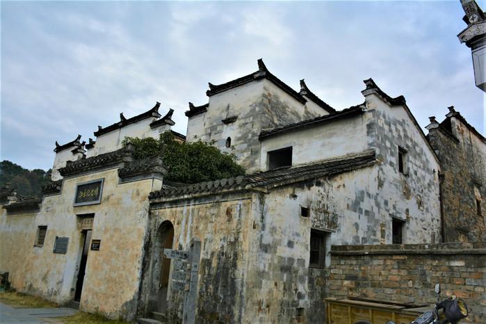 婺源江灣p70:天燈往前就來到了江永紀念館,典型徽派建筑的紀念館看著