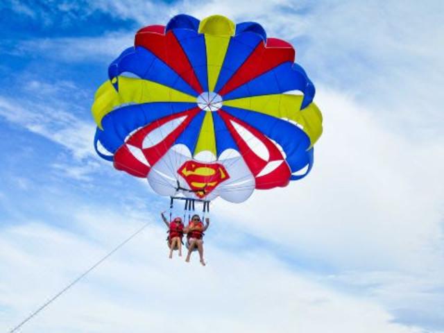 【水上活动】<长滩岛降落伞体验>