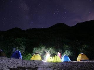 <惠州三门岛海岛2日游>露营