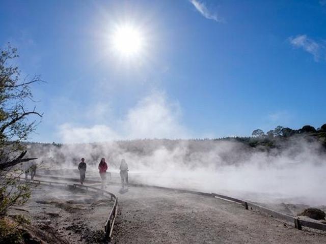 罗托鲁瓦地狱之门地热保护区