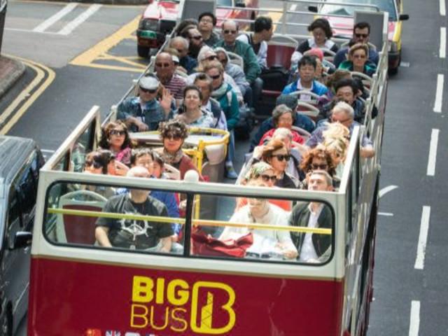 【 香港自由行】<Big Bus Tours  香港大巴士观光车票>(多条线路可选,畅游中环、赤柱,夜游维港璀璨夜景!)