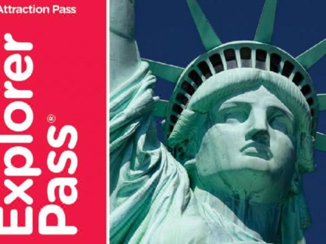 【玩转美帝,城市通票go city card】<纽约套票New York Explorer Pass>(57个项目任选3/4/5/7/10个)