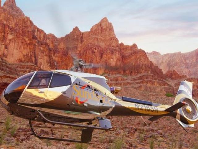 【西峡】<美国大峡谷巴士一日游>(直升机空览+玻璃桥+可选不含餐/三明治餐/印第安风味餐)