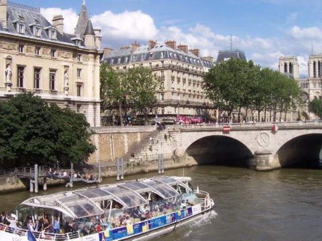 【欧洲之星】<法国巴黎地铁卡+塞纳河游船自由行>(伦敦往返)