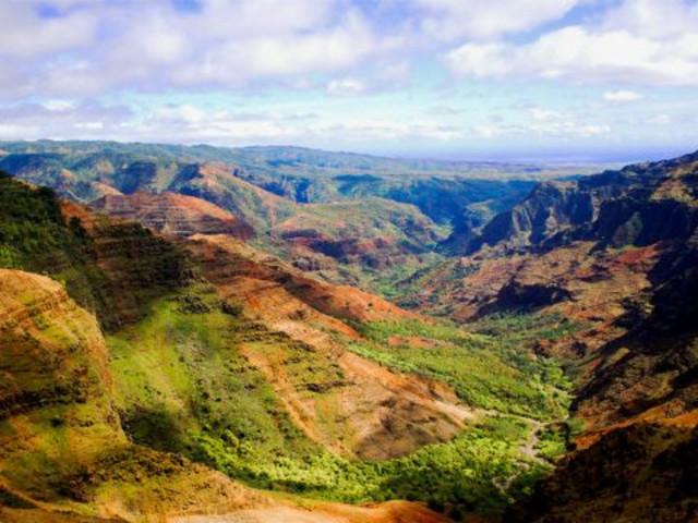 【可爱岛精选】<夏威夷可爱岛威美亚峡谷+羊齿洞穴一日游>