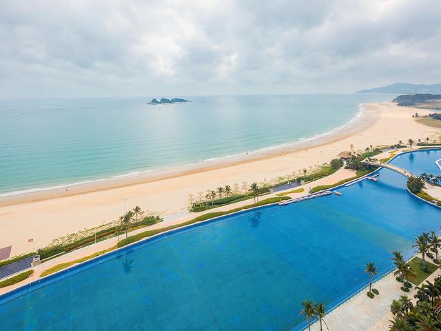 阳江闸坡-海陵岛2日游>宿敏捷黄金海岸她他会度假公寓海景双人房