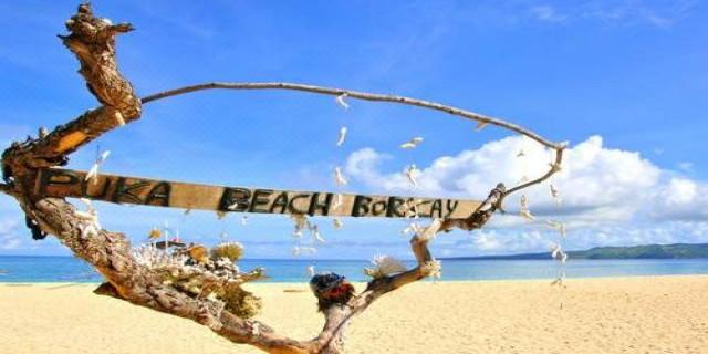 菲律宾  长滩岛 产品经理推荐 在鳄鱼岛浮潜和游泳 在魔幻岛体验悬崖