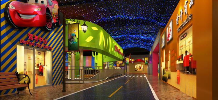 西安希乐城少儿职业探索乐园景点介绍