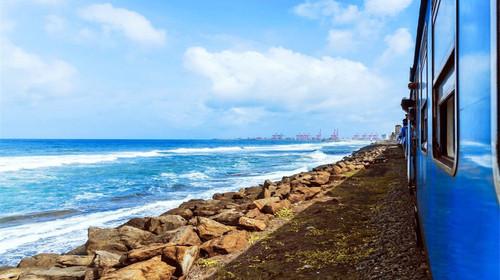 斯里兰卡海滨