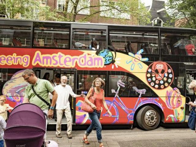 【牛货】<阿姆斯特丹随上随下巴士与船支旅游>