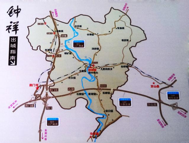 钟祥市区规划图