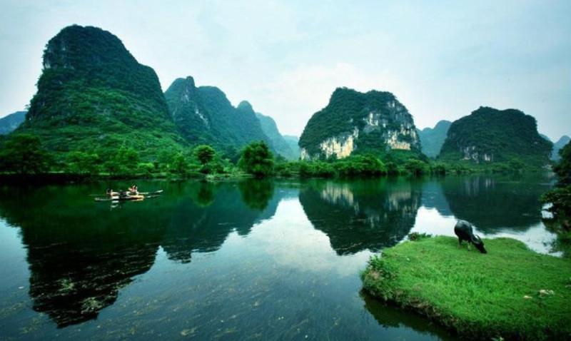 桂林有多少人口_春节一家老小六口人的桂林自驾游