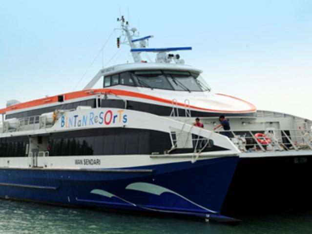 【 特价班次】<新加坡到民丹岛往返渡轮船票>往返双程价  电子换票证