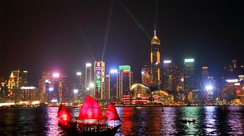 香港来回机票+香港澳门5晚6日游