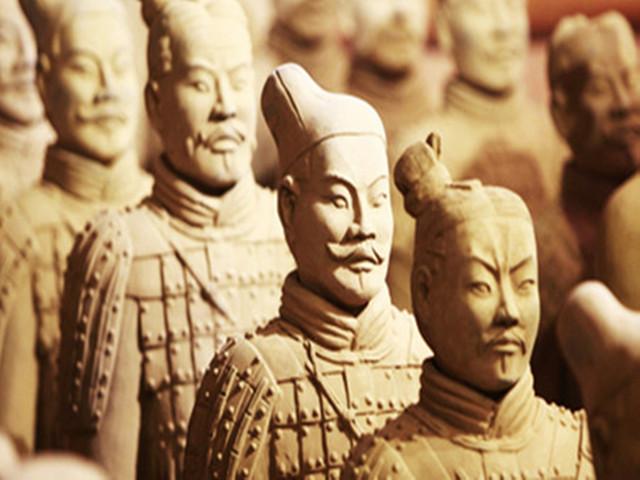 <兵马俑-陕西历史博物馆1日游>陕历博快速通道,赠冰峰汽水,无线耳麦