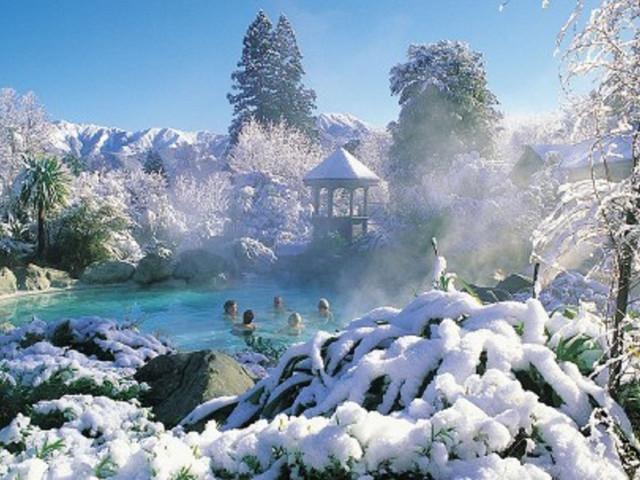 新西兰基督城汉默温泉地热温泉池门票