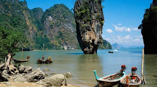泰国-普吉岛5晚6日游>2晚国五度假村酒店 含签证 悬崖餐厅 vip双体