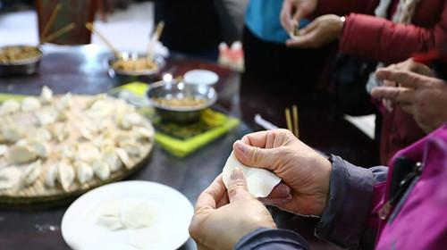【北方特色饺子宴】2-3种馅,小伙伴一起包饺子,剁菜馅,动手和面,让