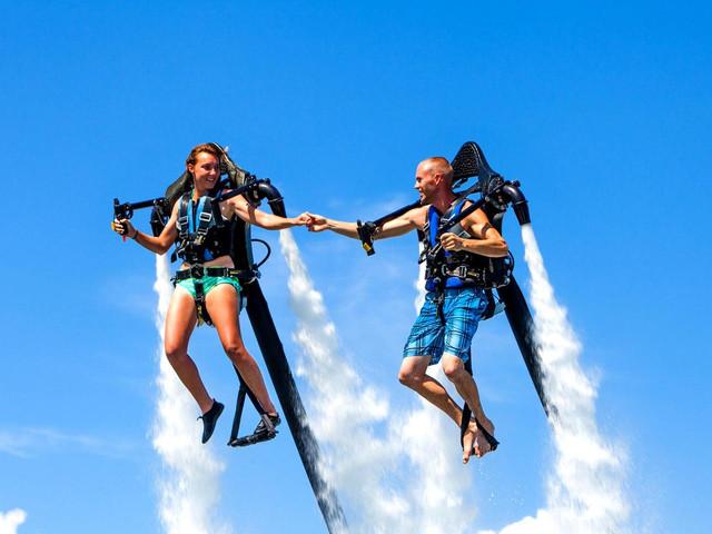 <悉尼水上喷气飞行入门体验>(多种设备自选+空中飞行)