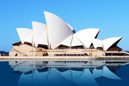 <澳洲墨尔本--悉尼-布里斯班-黄金海岸机票+当地8日游>直飞航班  悉尼歌剧院 可伦宾动物园