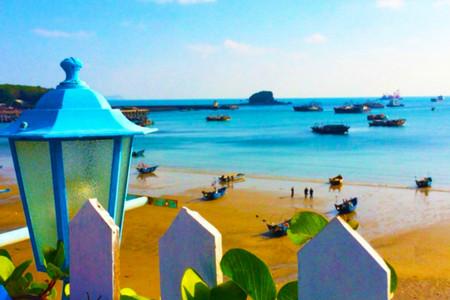 <广西北海+涠洲岛半自助4日游>海岛懒人假期,24H专车接送,1单1团,夜宿涠洲观浪漫星空,阳光沙滩享美好假期,相约来看海