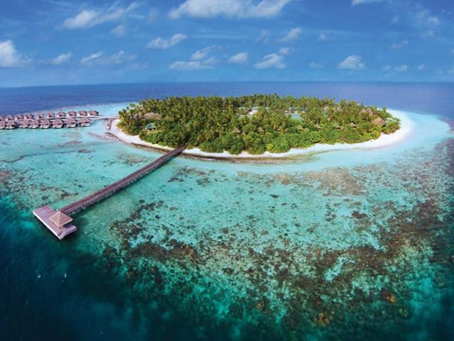 <马尔代夫奥瑞格岛OutriggerResort4晚单酒店>含上岛小交通,可代订婚拍、出海活动
