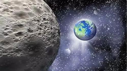 画有坑的月球步骤图