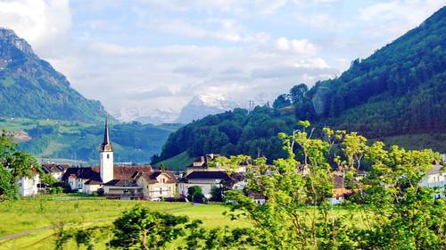 瑞士风光  琉森