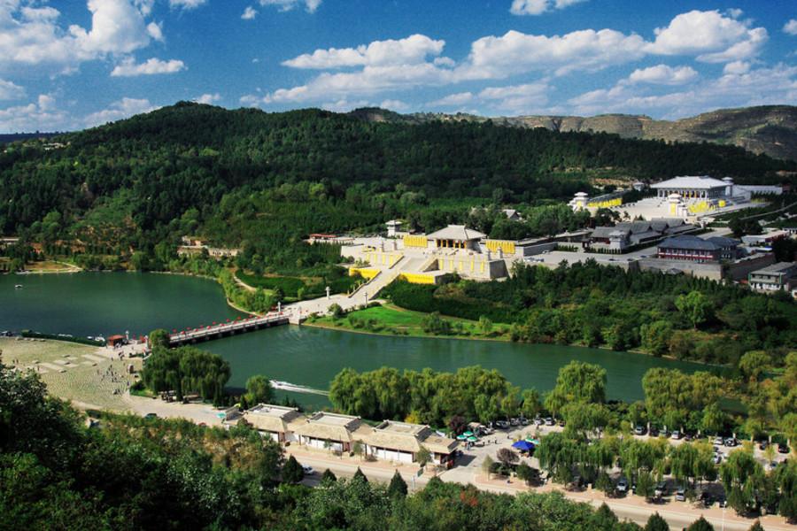 西安黄帝陵-黄陵国家森林公园-万安禅院自驾2日>宿黄陵轩辕宾馆,赠