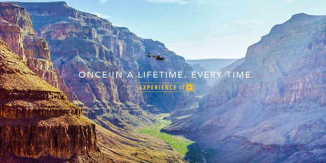 <壮美大峡谷直升机游+野餐+香槟>(拉斯维加斯出发)