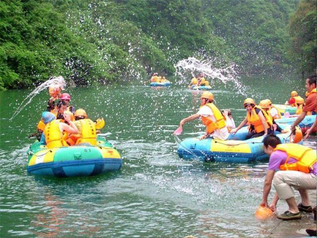 庞泉沟1日游 更安全,更刺激的动感水上乐园与你一起爽翻天