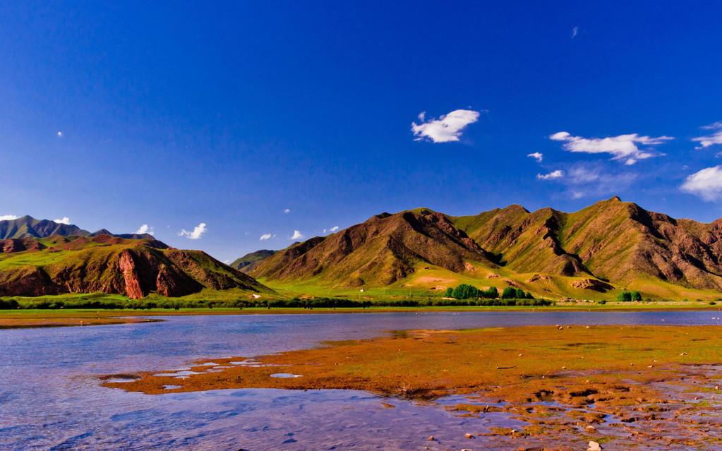 藏族风景动态图片